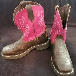Justin Western Boot Size 9.5